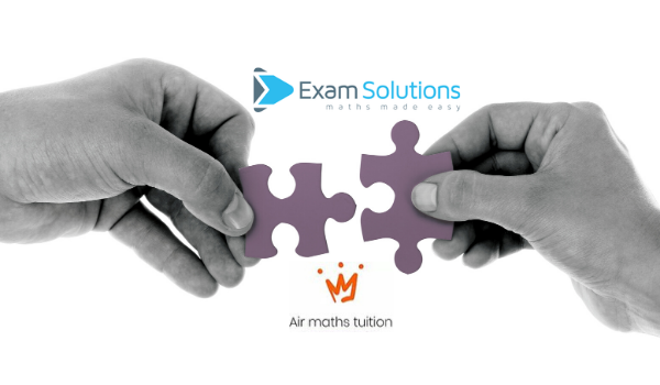 Exam Solutions and Air Maths Tuition pieces of a puzzle