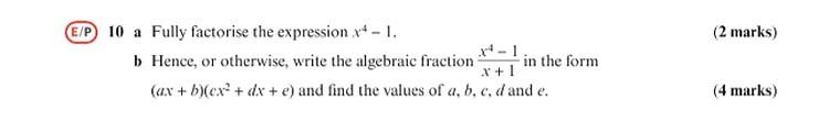 full factorize
